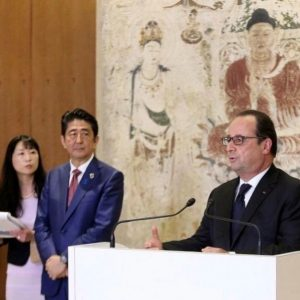 G7 Summit 2016 Ise Shima Abe Hollande