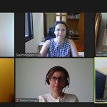 AIIC members in a video conference